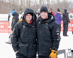 Steve and Chris Langton are representing Somerville as well as TeamUSA at the XXII Olympic Winter Games in Sochi, Russia.