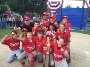 Somerville's Little League Major Champions, Sally O'Briens