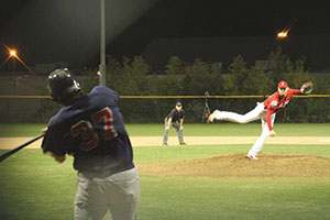 The Somerville Alibrandis dominated the Brighton Minutemen by a score of 11-1 Friday night, coming off of a rejuvenating break in the season due to some rainouts earlier that week.