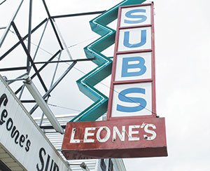 Leone's Sub and Pizza is a much beloved culinary institution not only in Somerville, but from coast to coast, and beyond.