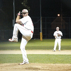 Pitcher Sean Sullivan played a big role in helping the Somerville Alibrandis nail down its fifth consecutive championship title.