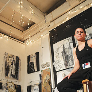 Come celebrate the 40th Anniversary of Vernon Street Open Studios at the Somerville Museum.