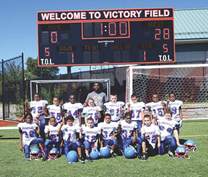 Somerville Youth Football has earned its opportunity to challenge the Stoneham Spartans for a shot at the championship.