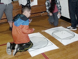 Ultimate π Day at the Healey School brought out the higher mathematician in everyone who participated.