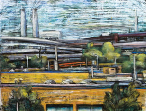 """""""Somerville Towards Route 93"""" – Cynthia Maurice"""