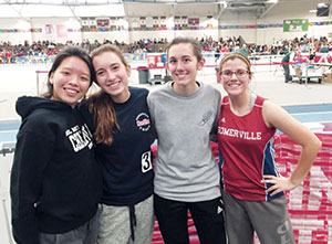 The SHS Girls Track Team made a splash at the statewide Coaches Invitational and Elite meet this past weekend.