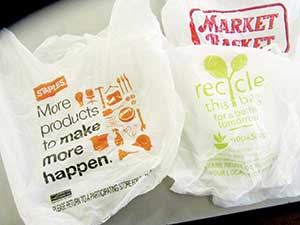 While the use of plastic bags by retailers' days may be numbered, some are also questioning the practicality of continued use of paper bags as well.