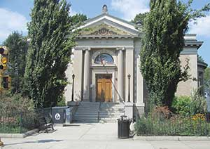 Major renovation for the West Branch Public Library may be getting underway soon if the Board of Aldermen approves the CPA funds earmarked for the project.