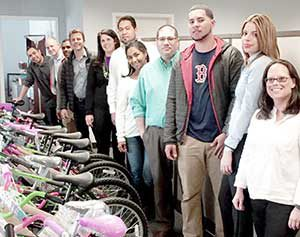 ECOlogic and Together We Rise worked together to get some nice new bicycles to several local foster kids.