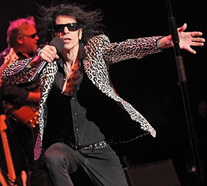 Peter Wolf blew away the crowd at The Somerville Theatre last Thursday night. ~Photo by Matt Stone