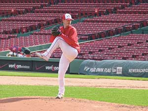Jon Morse of Somerville Alibrandis' was named Pitcher of the Week for the week of June 27 – July 3.