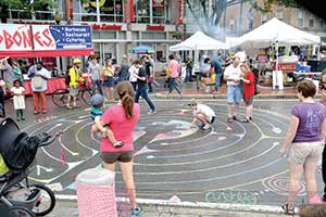 Artbeat takes over Davis Square in Somerville this coming Friday and Saturday.