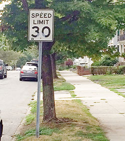 Somerville drivers may be slowing down a bit now that legislation allowing municipalities to set their own speed limits has been passed. ~Photo by Bobbie Toner