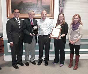 The city gratefully received the citation and recognition by Road Runners Club of America.